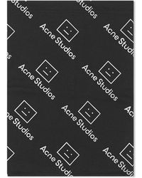 Acne Studios Jersey Face Snood - Black