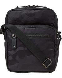 Valentino - Nylon Jaquard Camo Cross Body Bag - Lyst