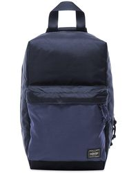 Porter Force Sling Shoulder Bag - Blue