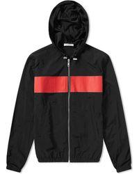Givenchy Hooded Windbreaker Jacket - Black