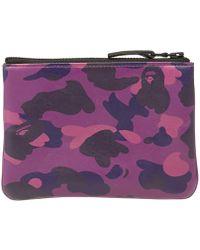 A Bathing Ape - Colour Camo Wallet - Lyst