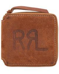 RRL - Zip Wallet - Lyst
