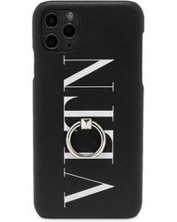 Valentino Vltn Logo Iphone 11 Pro Max Case - Black