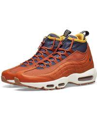 size 40 64dcf f32bc Air Max 95 Sneakerboot - Orange