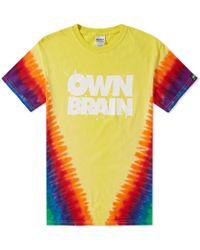 A.Four Labs - Own Brain By Tie Dye Tee - Lyst