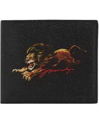 29b5616a40d Lyst - Givenchy Lion Print Card Case - for Men