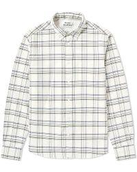 Acne Studios - Isherwood Twill Check Shirt - Lyst