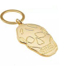 Alexander McQueen - Skull Keyring - Lyst