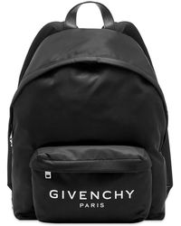 Givenchy Black Backpack With Contrasting Logo