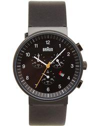 Braun Bn0035 Chronograph Watch - Black