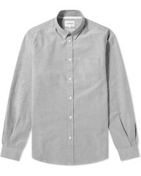 Norse Projects Anton Oxford Shirt - Gray
