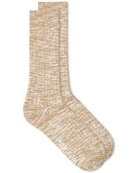 Universal Works Slub Sock - Natural