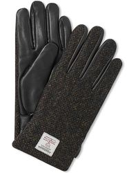 Norse Projects Kaj Harris Tweed Glove - Black