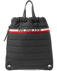 Moncler | Soft Shell Drawstring Tote Bag | Lyst