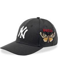 Gucci Ny Yankees Baseball Cap - Black