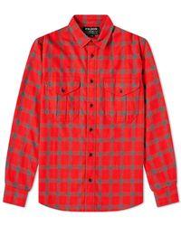 Filson Checked Alaskan Guide Shirt - Red