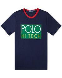 Polo Ralph Lauren - Hi Tech Jersey T-shirt - Lyst