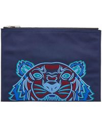 KENZO - Tiger Pouch - Lyst