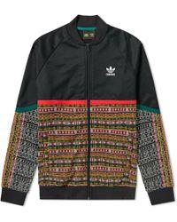 a84759780f2de Lyst - adidas X Pharrell Williams Solar Hu Track Jacket in Black for Men