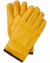 Norse Projects X Hestra Utsjo Glove - Yellow