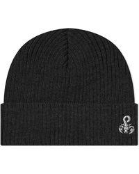 Sophnet Scorpion Logo Knit Cap - Black