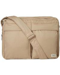 Mackintosh Gabardine Shoulder Bag - Brown