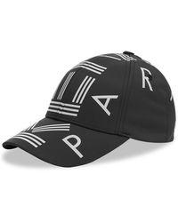 KENZO Nylon Logo Cap - Black