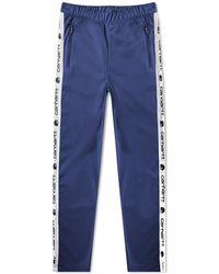 Carhartt WIP Goodwin Track Pant - Blue
