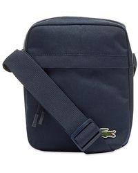 Lacoste Vertical Camera Bag - Blue