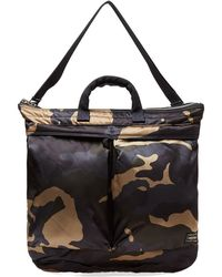 Porter - Counter Shade Camo Helmet Tote - Lyst