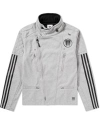 f6f32fb5ed65 adidas Originals Ma1 Padded Jacket in Black for Men - Lyst