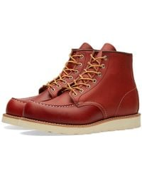 Red Wing - 8131 Heritage Work Moc Toe Boot - Lyst