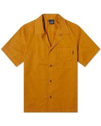 Bleu De Paname Surf Shirt - Orange