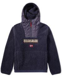 Napapijri - Teide Sherpa Jacket - Lyst