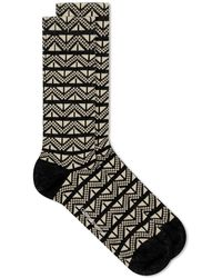 Oliver Spencer Miller Sock - Black