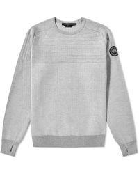 Canada Goose Black Label Conway Crew Knit - Gray