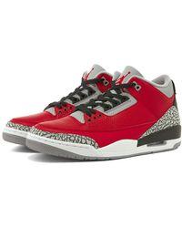 Nike Air Jordan 3 Retro Se Bg - Red