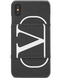 Valentino Garavani Valentino Garavani Vlogo Iphone Xs Max Case - Black