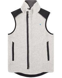 Klättermusen Skoll Sherpa Fleece Vest - Multicolour