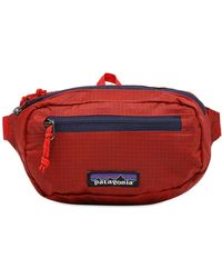 Patagonia Ultralight Black Hole® Mini Hip Pack 1l Rincon Red