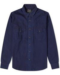 Filson Alaskan Guide Shirt - Blue
