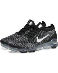 Nike Air Vapormax Flyknit 3 Running Shoes - Black