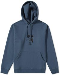 Stussy - Tribe Man Applique Hoody - Lyst