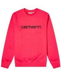 Carhartt WIP - Logo Sweat - Lyst