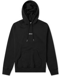 AMI Embroidered Silence Hoody - Black
