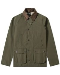 Barbour Bedale Casual Jacket - White Label - Green