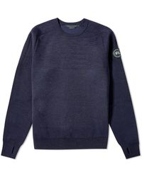 Canada Goose Black Label Conway Crew Knit - Blue