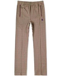 Needles Jacquard Houndstooth Track Pant - Green