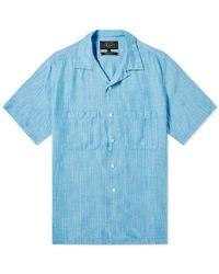 Beams Plus - Colour Slub Yarn Vacation Shirt - Lyst