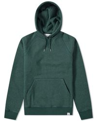 Norse Projects Ketel Raglan Heavy Hoody - Green